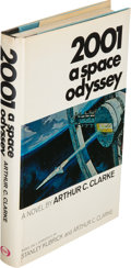 Books:Science Fiction & Fantasy, Arthur C. Clarke. 2001: A Space Odyssey. [New York]: The NewAmerican Library, [1968]. First edition....