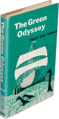 Books:Science Fiction & Fantasy, Philip Jose Farmer. The Green Odyssey. New York: BallantineBooks, [1957]. First edition, signed by Farmer on the ha...