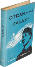 Books:Science Fiction & Fantasy, Robert A. Heinlein. Citizen of the Galaxy. New York: Charles Scribner's Sons, [1957]. First edition....