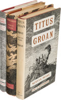 Books:Science Fiction & Fantasy, Mervyn Peake. [Gormenghast Sequence]: Titus Groan; Gormenghast; [and:] Titus Alone. London: Eyre & Spottiswo... (Total: 3 Items)