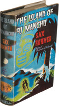 Books:Science Fiction & Fantasy, Sax Rohmer. The Island of Fu Manchu. London, Toronto,Melbourne and Sydney: Cassell and Company, Limited, [1941]. Fi...