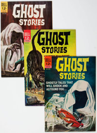 Ghost Stories File Copies Group of 60 (Dell, 1963-73) Condition: Average VF+.... (Total: 60 Comic Books)