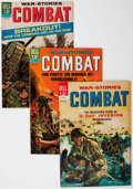 Silver Age (1956-1969):War, Combat File Copies Group of 70 (Dell, 1964-73) Condition: Average VF+.... (Total: 70 Comic Books)