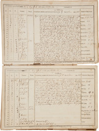 [Second Barbary War]. Log Book of the USS Spark