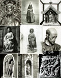 Books:Prints & Leaves, [Saints]. Collection of Approximately Sixty-Six PhotographsRelating to Catholic Saints....