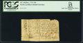 Colonial Notes:North Carolina, North Carolina December, 1771 10s PCGS Apparent Fine 15.. ...