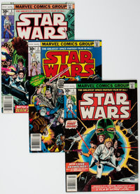 Star Wars #1-5 Group (Marvel, 1977) Condition: Average VF-.... (Total: 5 Comic Books)
