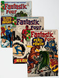 Silver Age (1956-1969):Superhero, Fantastic Four Group of 8 (Marvel, 1966-67) Condition: Average VF-.... (Total: 8 Comic Books)