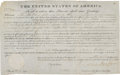 Autographs:U.S. Presidents, Andrew Jackson Signed Land Grant....