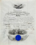Autographs:U.S. Presidents, William McKinley Signed Presidential Military Appointment....