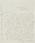 Autographs:U.S. Presidents, Franklin Pierce Autograph Letter Signed....