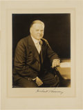 Autographs:U.S. Presidents, Herbert Hoover Signed Photograph. ...