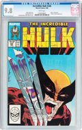 Modern Age (1980-Present):Superhero, The Incredible Hulk #340 (Marvel, 1988) CGC NM/MT 9.8 Whitepages....