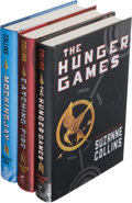 Books:Science Fiction & Fantasy, Suzanne Collins. The Hunger Games Trilogy, including: The Hunger Games [together with:] Catching Fir...