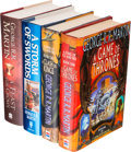 Books:Science Fiction & Fantasy, George R. R. Martin. A Song of Ice and Fire Series,including:... (Total: 6 Items)