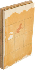 Books:Literature 1900-up, John Steinbeck. The Red Pony. New York: Covici - FriedePublishers, 1937. ...