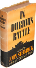 Books:Literature 1900-up, John Steinbeck. In Dubious Battle. New York: Covici-Friede,[1936]. ...