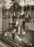 Photographs:Gelatin Silver, Eugène Atget (French, 1857-1927). Mannequins, 1925. Gelatinsilver, printed by Berenice Abbott. 9 x 6-1/2 inches (22.9 x...