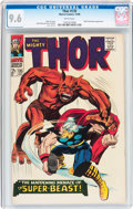 Silver Age (1956-1969):Superhero, Thor #135 (Marvel, 1966) CGC NM+ 9.6 White pages....