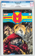 Modern Age (1980-Present):Superhero, Miracleman #15 (Eclipse, 1988) CGC NM/MT 9.8 White pages....