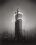 Photographs:Gelatin Silver, Len Prince (American, b. 1953). Empire State Building Motion Landscape, 2001. Gelatin silver. 22-1/4 x 17-5/8 inches (56...