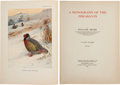 Books:Natural History Books & Prints, William Beebe. A Monograph of the Pheasants. London: Published Under the Auspices of the New York Zoological Society... (Total: 4 Items)