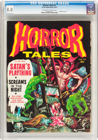 Horror Tales #7 (Eerie Publications, 1969) CGC VF 8.0 Off-white to white pages