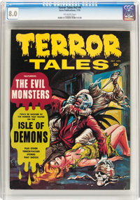 Terror Tales (Magazine) V2#4 (Eerie Publications, 1970) CGC VF 8.0 Off-white pages