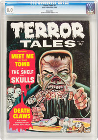 Terror Tales (Magazine) #8 (Eerie Publications, 1969) CGC VF 8.0 White pages
