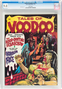 Tales of Voodoo (Magazine) V6#1 (Eerie Publications, 1973) CGC NM/MT 9.8 White pages