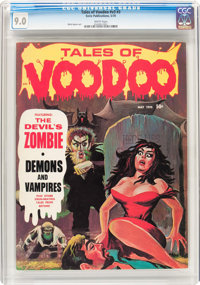 Tales of Voodoo (Magazine) v3#3 (Eerie Publications, 1970) CGC VF/NM 9.0 White pages