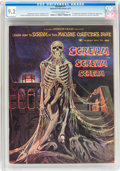 Magazines:Horror, Scream #1 (Skywald, 1973) CGC NM- 9.2 Off-white to white pages....