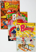 Silver Age (1956-1969):Humor, Bunny File Copies Group of 53 (Harvey, 1967-71) Condition: Average NM-.... (Total: 53 Comic Books)