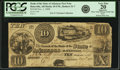 Obsoletes By State:Arkansas, Batesville, AR - Branch of the Bank of the State of Arkansas $10 Post Note Nov. 1, 1838 AR-10-UNL, Rothert 31-7. PCGS Very Fin...