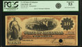 Obsoletes By State:Arkansas, Little Rock, AR - State of Arkansas $10 187_ Cr. 65, Rothert 395-4. Remainder. PCGS About New 53.. ...