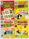 Bronze Age (1970-1979):Humor, Richie Rich Best of the Years/Richie Rich Millions File Copies BoxLot (Harvey, 1977-82) Condition: Average NM-....