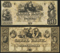 Obsoletes By State:Louisiana, New Orleans, LA- New Orleans Canal & Banking Company $50 (2) 18__ Remainders. ... (Total: 2 notes)