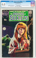 Bronze Age (1970-1979):Horror, House of Secrets #92 (DC, 1971) CGC VG 4.0 Off-white to whitepages....