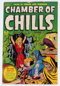 Golden Age (1938-1955):Horror, Chamber of Chills #21 (Harvey, 1954) Condition: VG-....