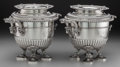 Silver Holloware, British:Holloware, A Pair of Paul Storr George III Silver Wine Coolers, London,England, circa 1808. Marks: (lion passant), (duty mark), N, P...(Total: 2 Items)