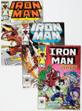 Modern Age (1980-Present):Superhero, Iron Man #214-243 Box Lot (Marvel, 1987-89) Condition: AverageFN....