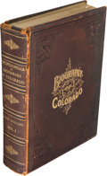 Books:Americana & American History, William N. Byers. Encyclopedia of Biography of Colorado. Historyof Colorado. Volume I. Chicago: The Century Pub...
