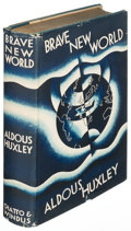 Books:Literature 1900-up, Aldous Huxley. Brave New World. London: 1932. Firstedition....