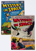 Golden Age (1938-1955):Science Fiction, Mystery in Space #7 and 8 Group (DC, 1952) Condition: AverageVG/FN.... (Total: 2 Comic Books)