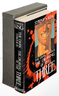 Stephen King. The Drawing of the Three. The Dark Tower II. West Kingston: [1987]. Fi