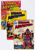 Golden Age (1938-1955):Science Fiction, Strange Adventures #3, 5, and 6 Group (DC, 1950-51) Condition:Average VG-.... (Total: 3 Comic Books)