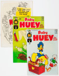 Silver Age (1956-1969):Humor, Baby Huey-Related Giant File Copies Box Lot (Harvey, 1950s-70s) Condition: Average NM-....