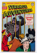 Golden Age (1938-1955):Science Fiction, Strange Adventures #8 (DC, 1951) Condition: FN/VF....