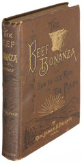 Books:Americana & American History, James S. Brisbin. The Beef Bonanza; or, How to Get Rich on thePlains. Philadelphia: 1881....