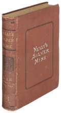 Books:Americana & American History, [Children's]. [Helen Hunt Jackson]. Nelly's Silver Mine. A Storyof Colorado Life. Boston: Roberts Brothers, 1878....